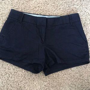 J. Crew 2 inch Navy Chino Shorts